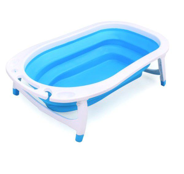 Cottonbox Collapsible Baby Bath - Blue | Buy Online in South ...
