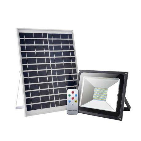 50w Solar Led Floodlight With Remote