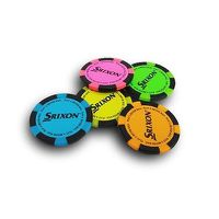 Srixon Poker Chip Ball Markers - Pack of 10