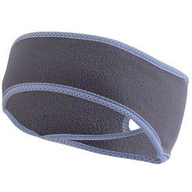 TrailHeads Women's Ponytail Headband - Charcoal & True Blue