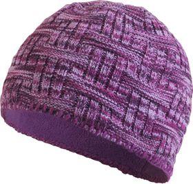 TrailHeads Women's Space Dye Knit Ponytail Beanie - Light Purple
