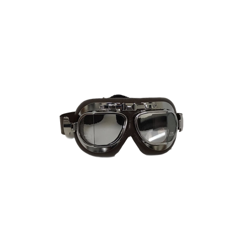 982fcccd01b Vintage Motorcycle Goggles - Brown