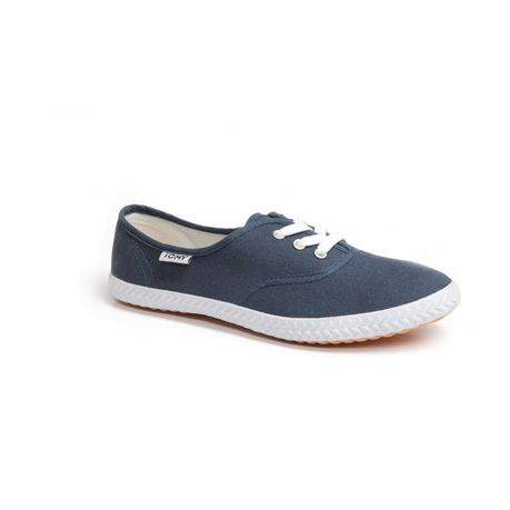 4aaae7aec3a2 Tomy Ladies Basic Canvas Sneaker - Navy
