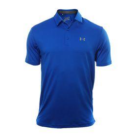 Under Armour Men's Playoff Golf Polo Shirt - Blue Marker