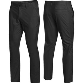 Under Armour Men's Match Play Golf Tapered Leg Pants - Black