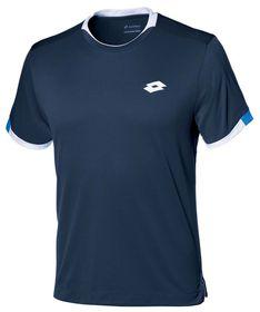 Lotto Men's Aydex II T-Shirt - Navy & White