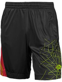 Lotto Men's Gravity II Shorts - Black & Red Warm