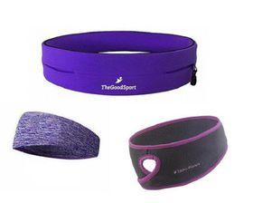 TheGoodSport Ladies Running Set - Purple (Size: M)