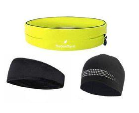 TheGoodSport Ladies Running Set - Yellow & Black (Size: M)