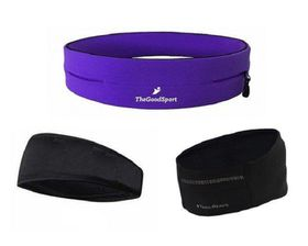 TheGoodSport Ladies Running Set - Purple & Black (Size: M)