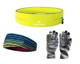 TheGoodSport Jogging Set - Yellow, Black & Multi-Colour (Size: M)