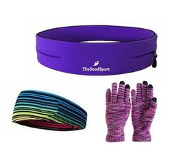 TheGoodSport Jogging Set - Purple & Multi-Colour (Size: S)