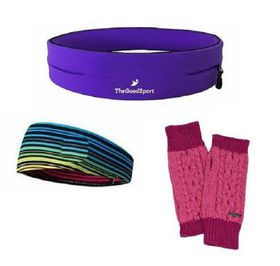 TheGoodSport Jogging Set - Purple & Rose (Size: L)