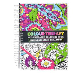Adult Anti Stress Colouring Book