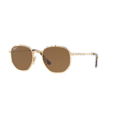 Ray-Ban Hexagonal RB3548N 001 57 51 Polarized Sunglasses   Buy ... 1dba90ef362a