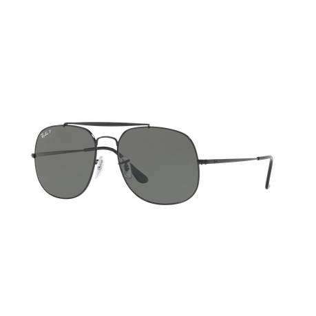 1139301983 Ray-Ban The General RB3561 002 58 57 Polarized Sunglasses