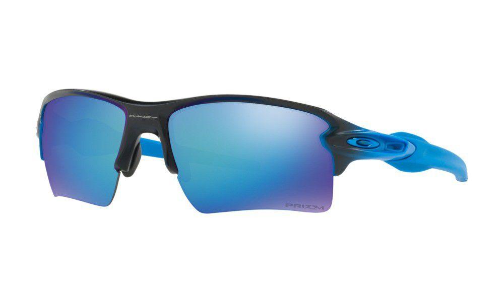 Oakley Herren Sonnenbrille Flak 2.0 Xl 918865, Blau (Sapphire Fade/Prizmsapphirepolarized), 59