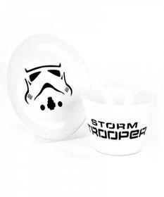 Star Wars: Stormtrooper - Bowl & Plate Set (Parallel Import)