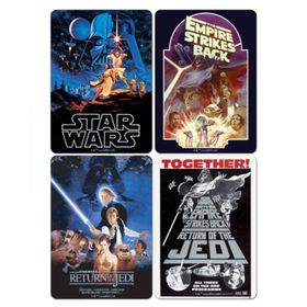 Star Wars: Film Posters Coaster Set (Parallel Import)