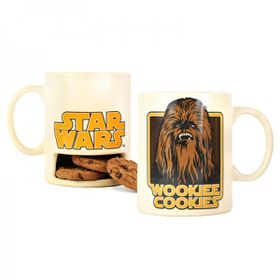 Star Wars: Wookie Cookies Cookie Holder Mug (Parallel Import)