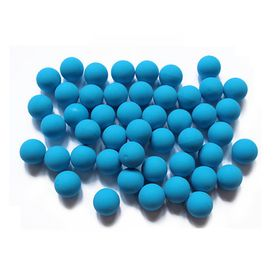Solid Rubber Soft Balls 0.68 Caliber - Blue (200 Pack)