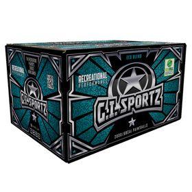 G.I. Sportz 1-Star Recreational Paintballs 68 Caliber - 2000 Pack