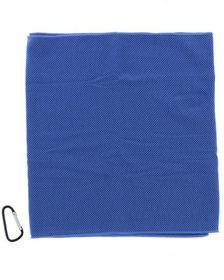 Medalist Snap Cooling Towel - Blue