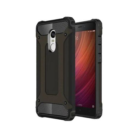 finest selection 818cf ca80b Shockproof Protective Armor Case for Xiaomi Redmi Note 4 & Note 4X - Black