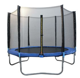 Zoolpro Trampoline & Safety Net Enclosure - 305cm 10FT