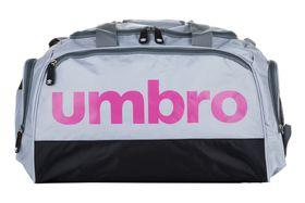 Umbro Tog Bag - Light Grey, Cool Grey & Pink (Size: Small)