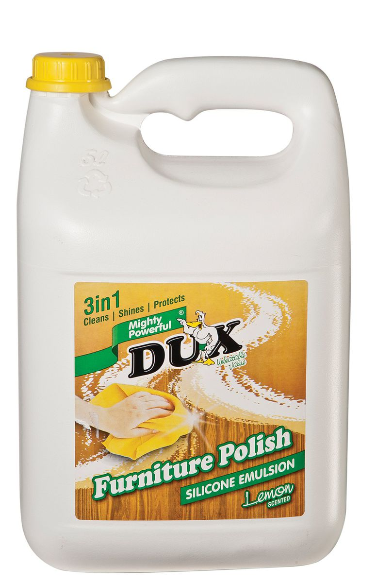 Dux Furniture Polish   4 X 5L. Loading Zoom