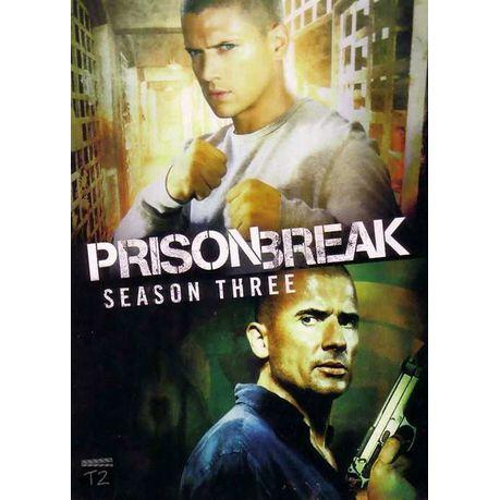 Prison Break Season 3 Dvd