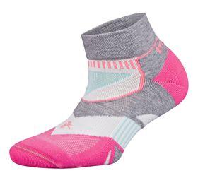 Balega Women's Enduro Low Cut Socks - Pink & White (Size: L)