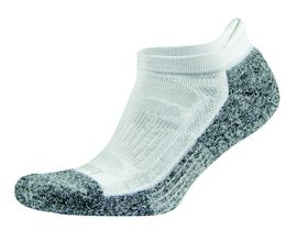 Balega Blister Resist No Show Socks - White (Size: L)