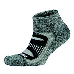 Balega Blister Resist Quarter Socks - Charcoal (Size: XL)