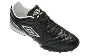 Umbro Youth Speciali Afriq Football Turf Boots - Black & White