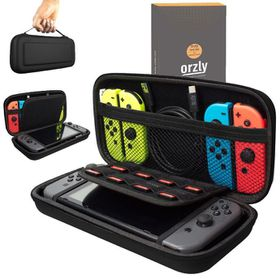Orzly: Protective Carry Case Pouch - Black (Nintendo Switch)