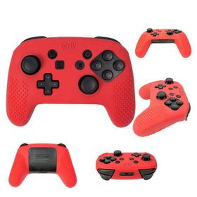Orzly: Flexicase Pro Controller - Red (Nintendo Switch)
