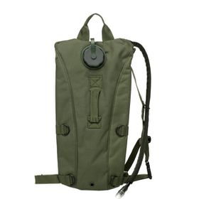Hydration Pack with 2.5L Water Bladder - Army Green