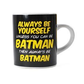 Batman: Be Batman Mini Mug (Parallel Import)
