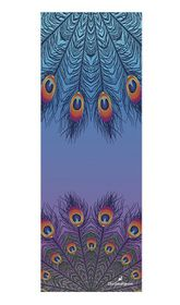 TheGoodSport Suede Yoga Mat - Peacock Feather