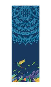 TheGoodSport Suede Yoga Mat - Blue Bird