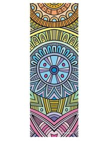 TheGoodSport Suede Yoga Mat - Traditional Multi-Colour