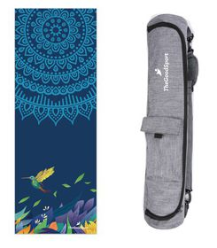 TheGoodSport Blue Bird Yoga Mat & Minimalist Bag