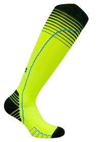 Vitalsox Men's VT0616 Performance Graduated Compression Socks - Yellow (Size: 9-11.5)