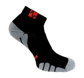 Vitalsox Men's VT1010 Court Low-Cut Compression Socks - Black (Size: 9-11.5)