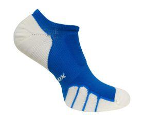 Vitalsox Men's VT1110 Court No-Show Compression Socks - Royal Blue (Size: 9-11.5)