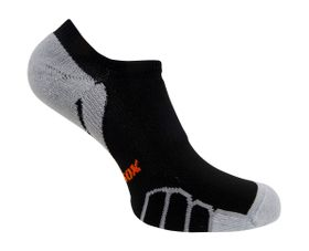 Vitalsox Men's VT3212 Running Ghost Light Weight Compression Socks - Black (Size: 4-5.5)
