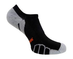 Vitalsox Men's VT3212 Running Ghost Light Weight Compression Socks  - Black (Size: 9-11.5)