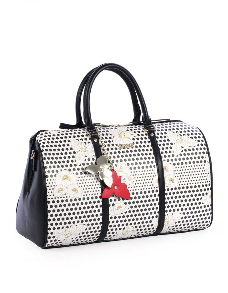 Sissy Boy Lola Duffle Bag White